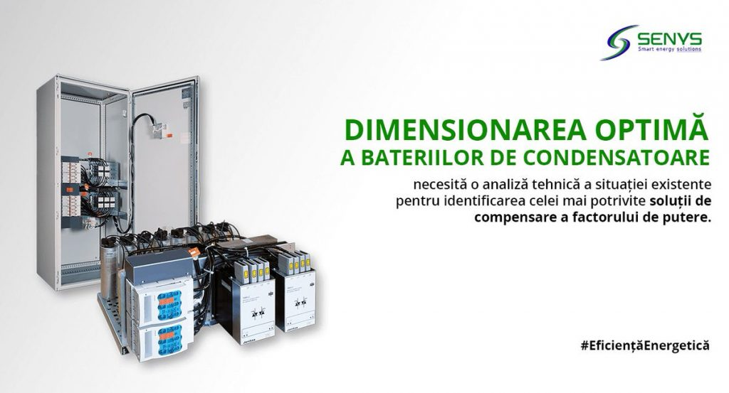dimensionarea bateriilor de condensatoare
