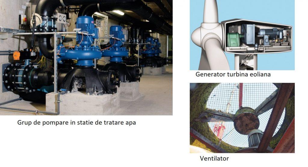 aplicatii pentru sistem monitorizare vibratii