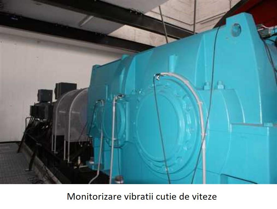 monitorizare vibratii cutie de viteza